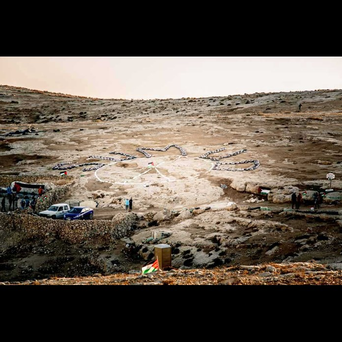 Sumud Peace Camp, South Hebron Hills – August 2017