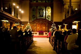 Amos Christmas Carol Services across the UK