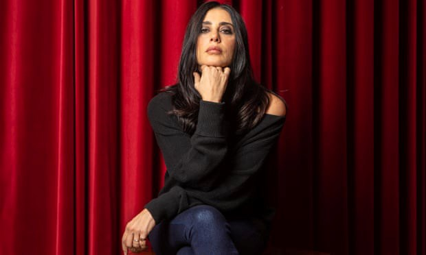 Lebanese actor and film director Nadine Labaki.