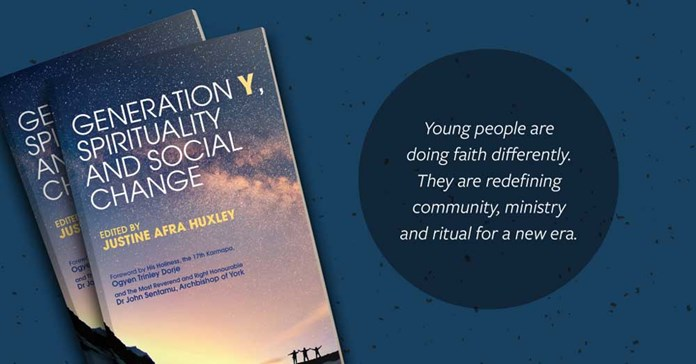 The book cover of 'Generation Y, Spirituality and Social Change'
