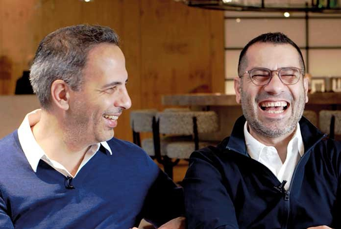 Yotam Ottolenghi and Sami Tamimi.