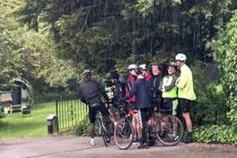 Amos Road Club rides the Wye Valley