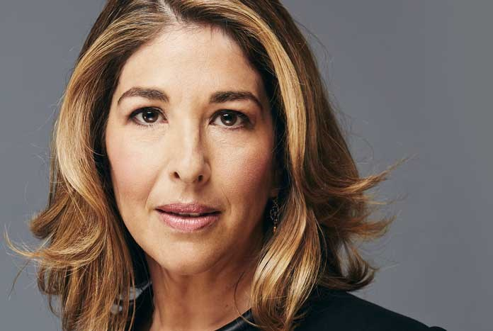 Writer and climate activist Naomi Klein.