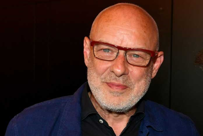 English composer and producer Brian Eno