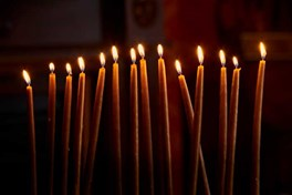 Advent Candles from Bethlehem